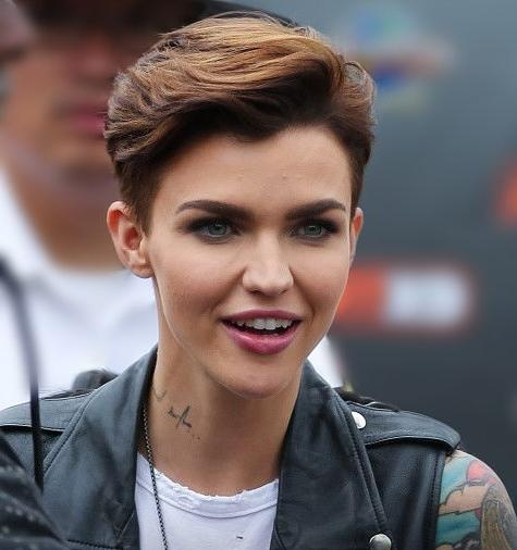 Featured Photo of Ruby Rose Short Hairstyles