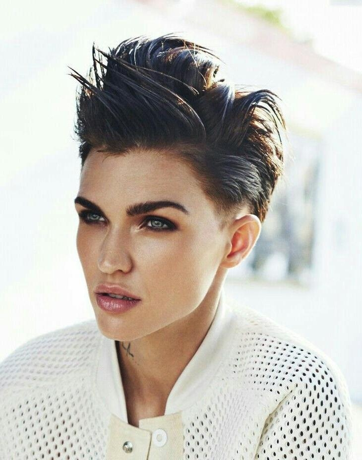 25+ Unique Ruby Rose Hair Ideas On Pinterest | Ruby Rose, Woman With Regard To Ruby Rose Short Hairstyles (View 7 of 20)