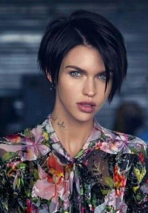 25+ Unique Ruby Rose Hair Ideas On Pinterest | Ruby Rose, Woman Within Ruby Rose Short Hairstyles (View 2 of 20)
