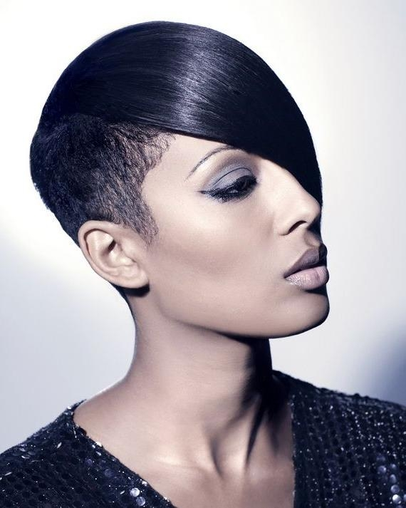 25+ Unique Short Black Hairstyles Ideas On Pinterest   Short Weave In Sexy Black Short Hairstyles (View 2 of 20)