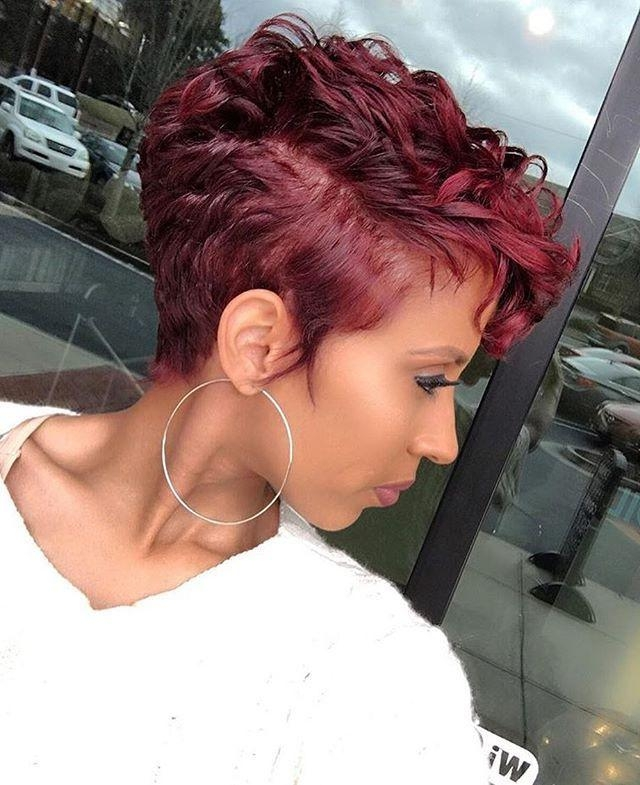 25+ Unique Short Black Hairstyles Ideas On Pinterest | Short Weave Inside Sexy Black Short Hairstyles (View 4 of 20)