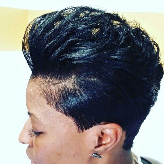 25+ Unique Short Black Hairstyles Ideas On Pinterest | Short Weave Inside Sexy Black Short Hairstyles (View 5 of 20)