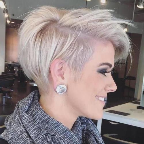 25+ Unique Short Fine Hair Ideas On Pinterest | Fine Hair Cuts Inside Trendy Short Hairstyles For Thin Hair (View 9 of 20)