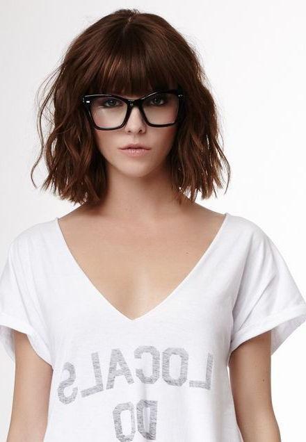 25+ Unique Short Fringe Hairstyles Ideas On Pinterest | Short Inside Short Hairstyles With Fringe (View 8 of 20)