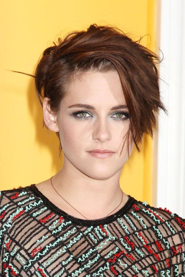 252 Best Short Haircuts Images On Pinterest | Short Haircuts Inside Kristen Stewart Short Hairstyles (View 1 of 20)