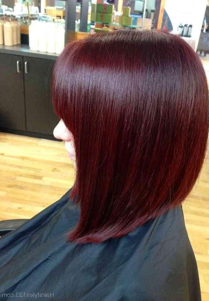 27 Beautiful Ideas Of Burgundy Short   Simple Stylish Haircut Within Burgundy Short Hairstyles (View 12 of 20)