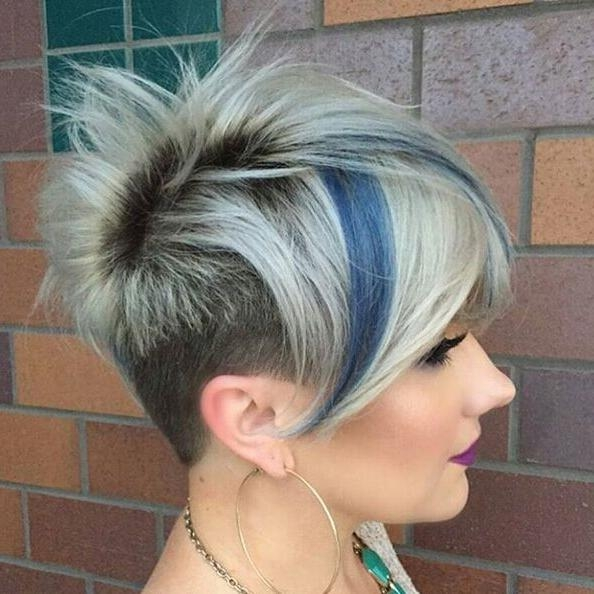 27 Stylish Fancy Undercut Hairstyle! Check Out Chic & Glam With Regard To Edgy Short Haircuts For Thick Hair (View 16 of 20)