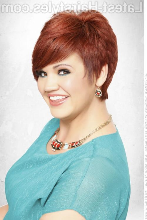 29 Short Hairstyles For Round Faces You Can Rock! Pertaining To Short Haircuts For Women With Round Face (View 7 of 20)