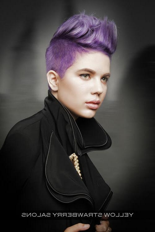 29 Short Hairstyles For Round Faces You Can Rock! Regarding Edgy Short Hairstyles For Round Faces (View 10 of 20)