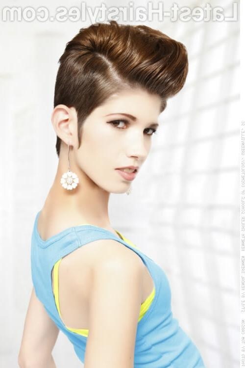 29 Short Hairstyles For Round Faces You Can Rock! Throughout Short Hairstyles For Round Face (View 12 of 20)