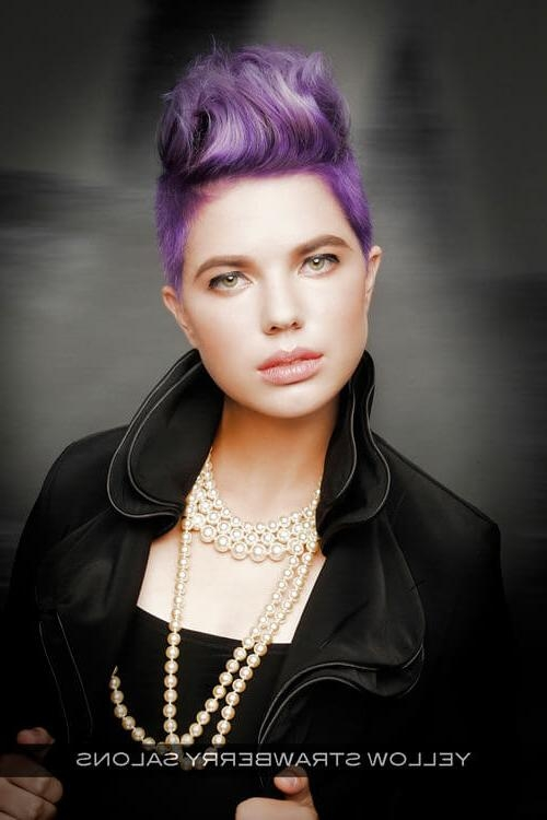 29 Short Hairstyles For Round Faces You Can Rock! With Regard To Edgy Short Hairstyles For Round Faces (View 11 of 20)