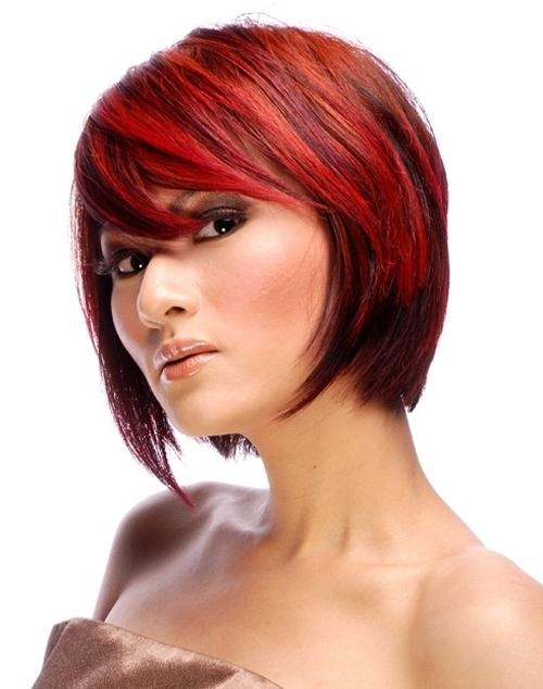 29 Short Red Hair Ideas, : Dark Red Short Hairstyles 2016 Medium Pertaining To Short Haircuts With Red Color (View 9 of 20)