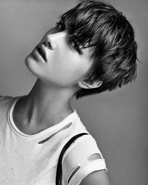 30 Amazing & Refreshing Super Short Haircuts For Women – Pretty Intended For Brunette Short Hairstyles (View 5 of 20)