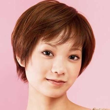 30 Best Short Hairstyles For Round Faces | Short Hairstyles 2016 In Short Haircuts With Bangs For Round Faces (View 4 of 20)
