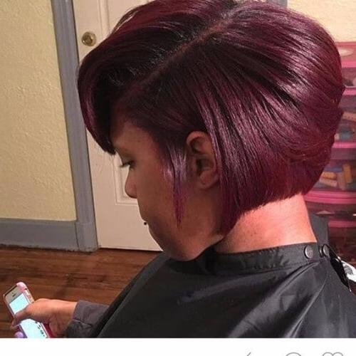 30 Burgundy Hair Ideas For Blonde, Red And Brunette Hair • Metdaan With Burgundy Short Hairstyles (View 14 of 20)