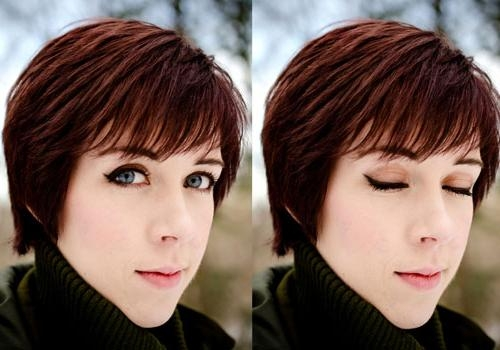 30 Cool Short Choppy Hairstyles | Creativefan Intended For Short Hairstyles Covering Ears (View 3 of 20)