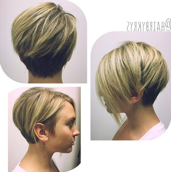 30 Hottest Simple And Easy Short Hairstyles – Popular Haircuts Inside Short Haircuts For Square Face Shape (View 5 of 20)