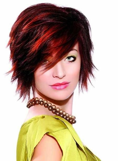 30 Short Haircuts With Color | Short Hairstyles 2016 – 2017 | Most Inside Short Haircuts With Red Color (View 18 of 20)
