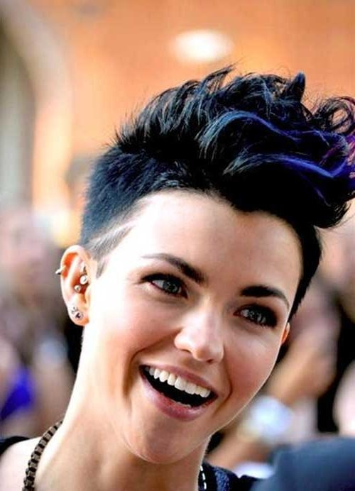 30 Short Trendy Hairstyles 2014 | Short Hairstyles 2016 – 2017 Throughout Ruby Rose Short Hairstyles (View 9 of 20)