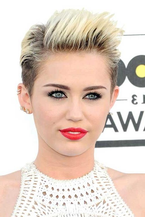 30 Short Trendy Hairstyles 2014 | Short Hairstyles 2016 – 2017 With Short Haircuts Like Miley Cyrus (View 2 of 20)