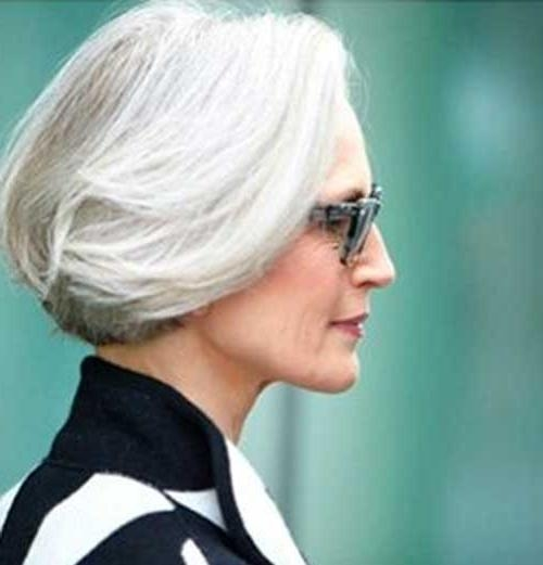 30 Stylish Gray Hair Styles For Short And Long Hair Within Short Haircuts For Coarse Gray Hair (View 16 of 20)