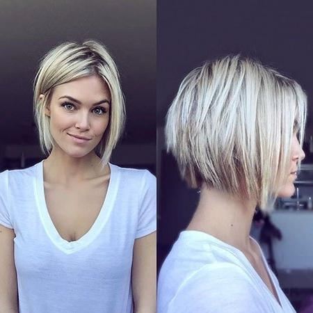 2018 latest short haircuts for women in their 30s