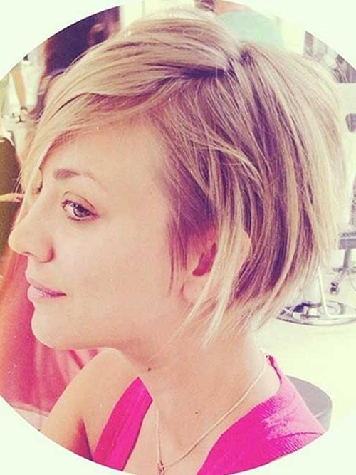 30 Trending Short Haircuts | Short Hairstyles 2016 – 2017 | Most Inside Kaley Cuoco Short Hairstyles (View 2 of 20)