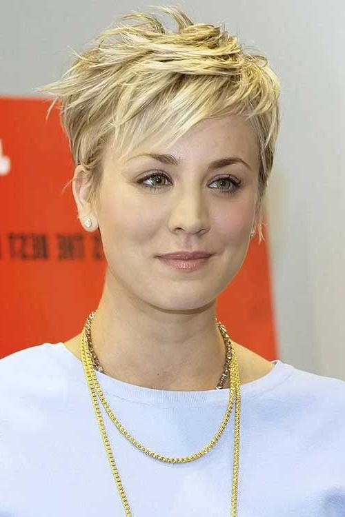 30 Trending Short Haircuts | Short Hairstyles 2016 – 2017 | Most Within Kaley Cuoco New Short Haircuts (View 6 of 20)