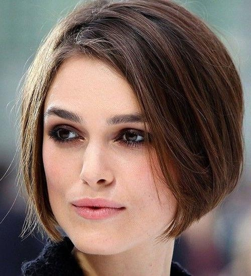 31 Best Face Shapes Images On Pinterest | Celebrity, Hair And Long With Regard To Short Haircuts For High Cheekbones (View 6 of 20)