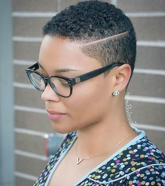 31 Best Short Natural Hairstyles For Black Women | Short Natural Intended For Very Short Haircuts For Black Women (View 6 of 20)