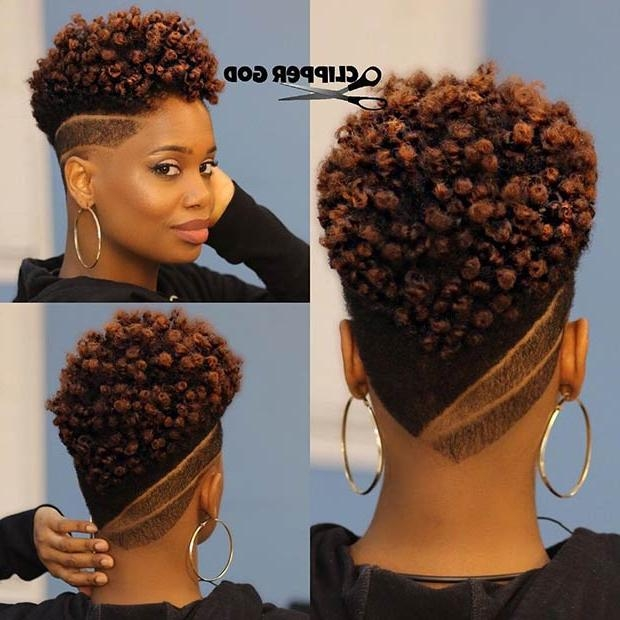 Photo Gallery Of Short Haircuts For Natural Hair Black Women