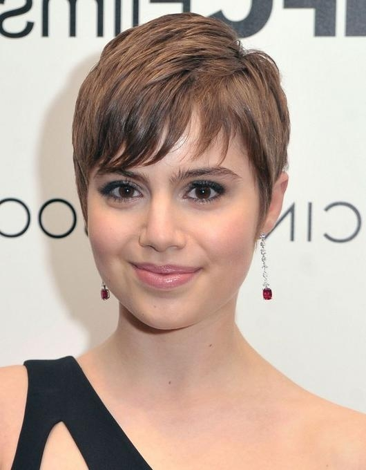 31 Celebrity Hairstyles For Short Hair – Popular Haircuts Intended For Cute Celebrity Short Haircuts (View 5 of 20)