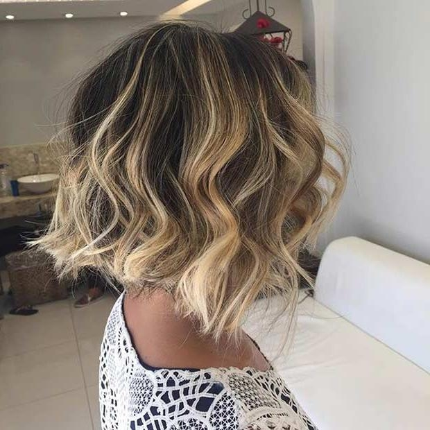 31 Cool Balayage Ideas For Short Hair | Stayglam Inside Short Hairstyles With Balayage (View 3 of 20)