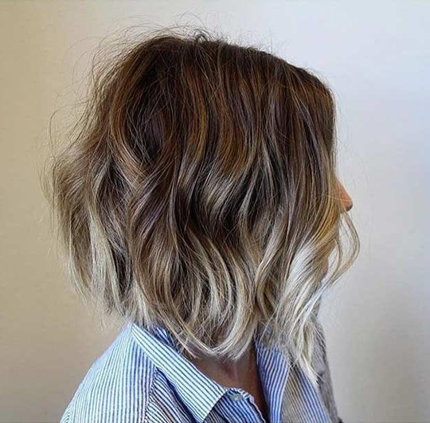 31 Cool Balayage Ideas For Short Hair | Stayglam Within Short Hairstyles With Balayage (View 5 of 20)