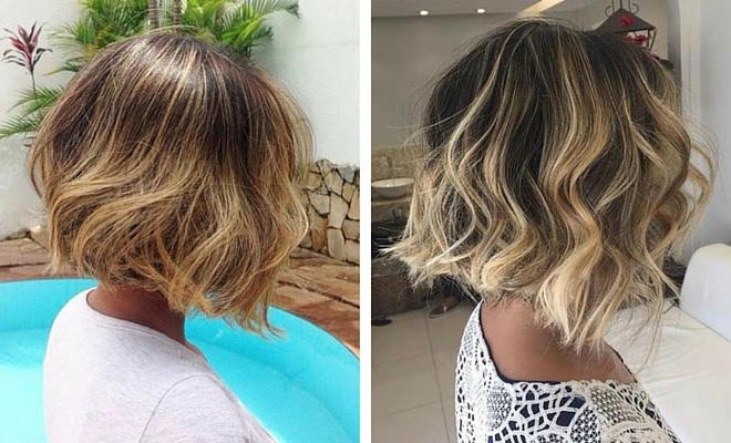 31 Cool Balayage Ideas For Short Hair | Stayglam Within Short Hairstyles With Balayage (View 4 of 20)