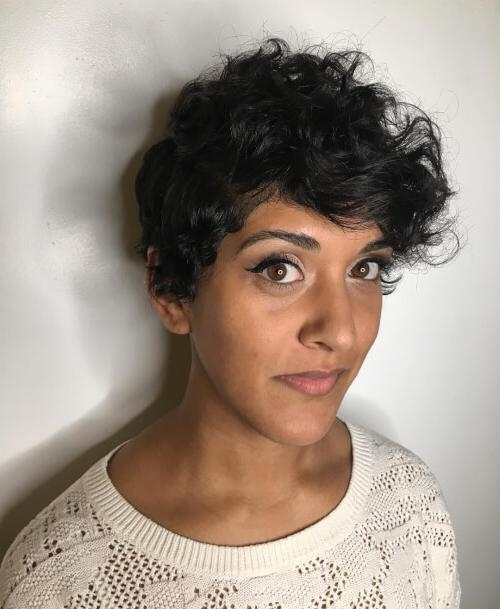 31 Sexy Short Curly Hairstyles & Haircuts For 2018 Regarding Curly Hair Short Hairstyles (View 11 of 20)