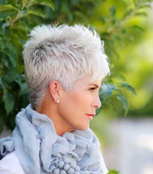 32 Absolutely Perfect Short Hairstyles For Older Women Pertaining To Short Haircuts For Seniors (View 5 of 20)