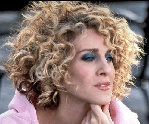 33 Best Curly Hair Images On Pinterest | Hairstyle, Plaits And Throughout Sarah Jessica Parker Short Hairstyles (View 2 of 20)