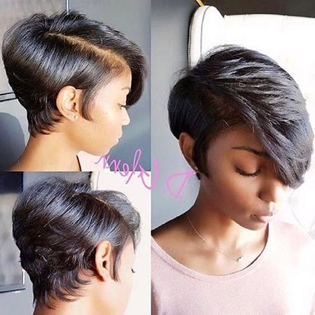 35 Best Short Hairstyles For Black Women 2017 | Short Hairstyles For Black Woman Short Hairstyles (View 3 of 20)