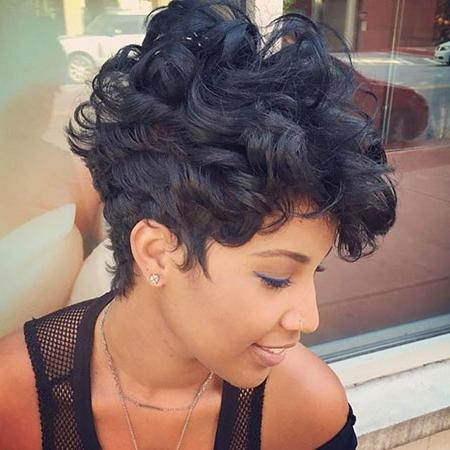 35 Best Short Hairstyles For Black Women 2017 | Short Hairstyles For Short Haircuts For Black Hair (View 2 of 20)