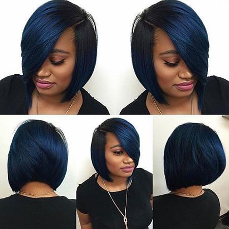 35 Best Short Hairstyles For Black Women 2017 | Short Hairstyles In Black Bob Short Hairstyles (View 7 of 20)