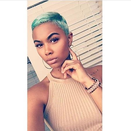 35 Best Short Hairstyles For Black Women 2017 | Short Hairstyles In Really Short Haircuts For Black Women (View 5 of 20)