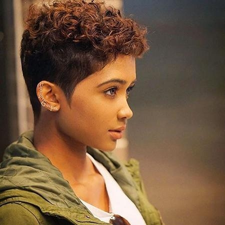 Featured Photo of Short Haircuts For Black Woman