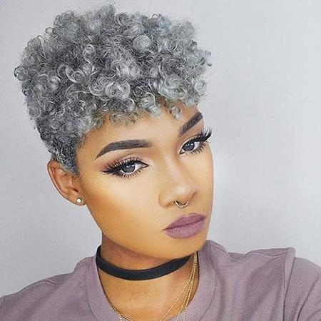 35 Best Short Hairstyles For Black Women 2017 | Short Hairstyles Intended For Short Hairstyles For Afro Hair (View 9 of 20)