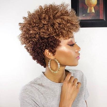 35 Best Short Hairstyles For Black Women 2017 | Short Hairstyles With Curly Short Hairstyles For Black Women (View 10 of 20)