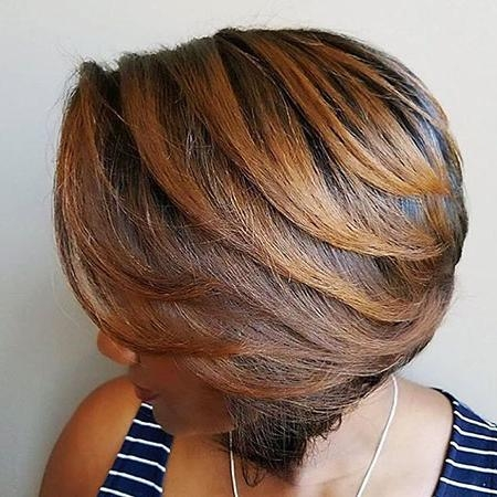35 Best Short Hairstyles For Black Women 2017 | Short Hairstyles Within Bob Short Hairstyles For Black Women (View 14 of 20)