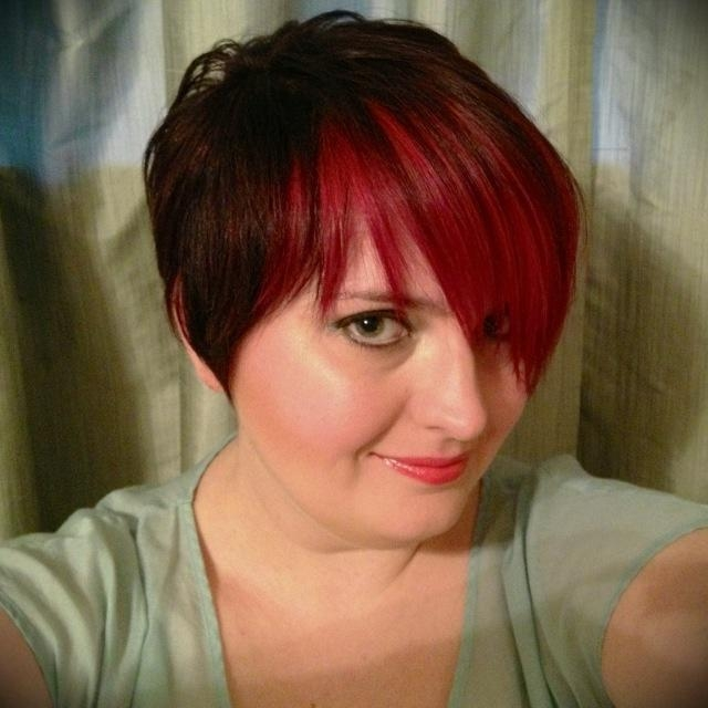 35 Best Short Hairstyles Images On Pinterest | Hair, Make Up And With Bright Red Short Hairstyles (View 2 of 20)