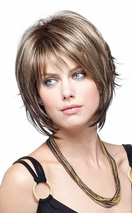 35 Layered Bob Hairstyles | Short Hairstyles 2016 – 2017 | Most Regarding Short Hairstyles With Bangs And Layers (View 7 of 20)