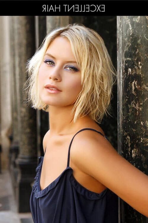 Photo Gallery of Easy Care Short Hairstyles For Fine Hair (Viewing ...