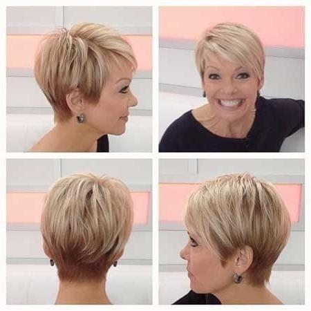 35 Pretty Hairstyles For Women Over 50: Shake Up Your Image & Come With Regard To Short Hairstyles For Thick Hair Over  (View 8 of 20)